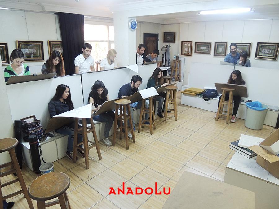 Gaziantepda Çizim Atölyesi