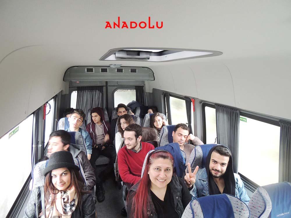 Anadolu Güzel Sanatlar Öğrencileri İle Sınavlara Gitme Gaziantepda