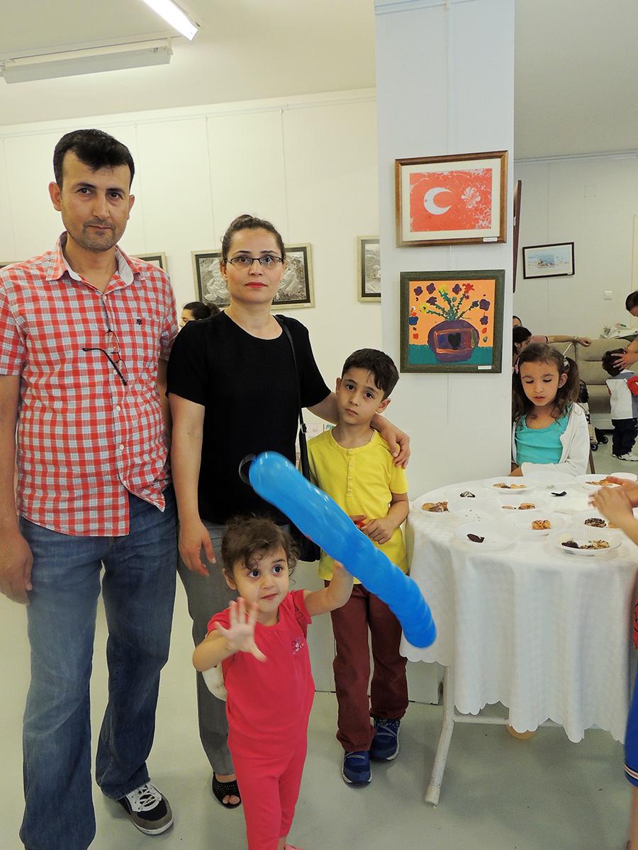 Çocukların Düzenlediği Sanat Sergileri Gaziantepda