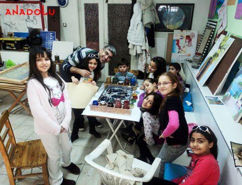 Gaziantepteki Çocuk Eğitimi ve Karakalem Çizimlerimi