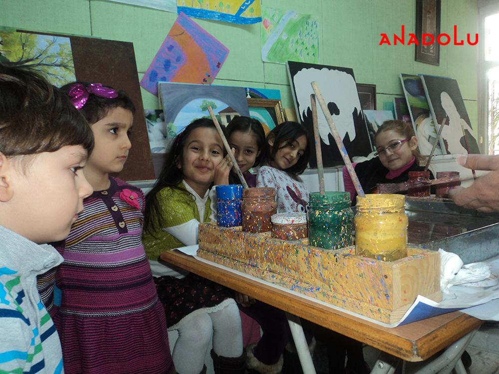 Gaziantepda Çocuk Sanat Atölyesi