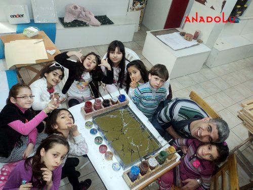 Çocuklar İçin Sanat Eğitimi Gaziantepda