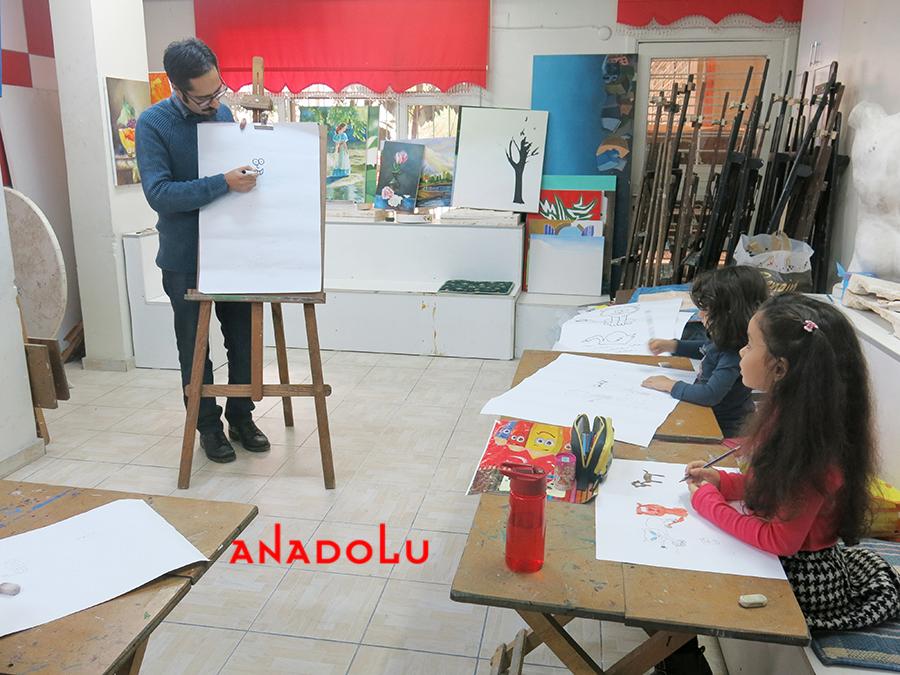 Çocuklar İçin Çizim Eğitimleri Gaziantepda