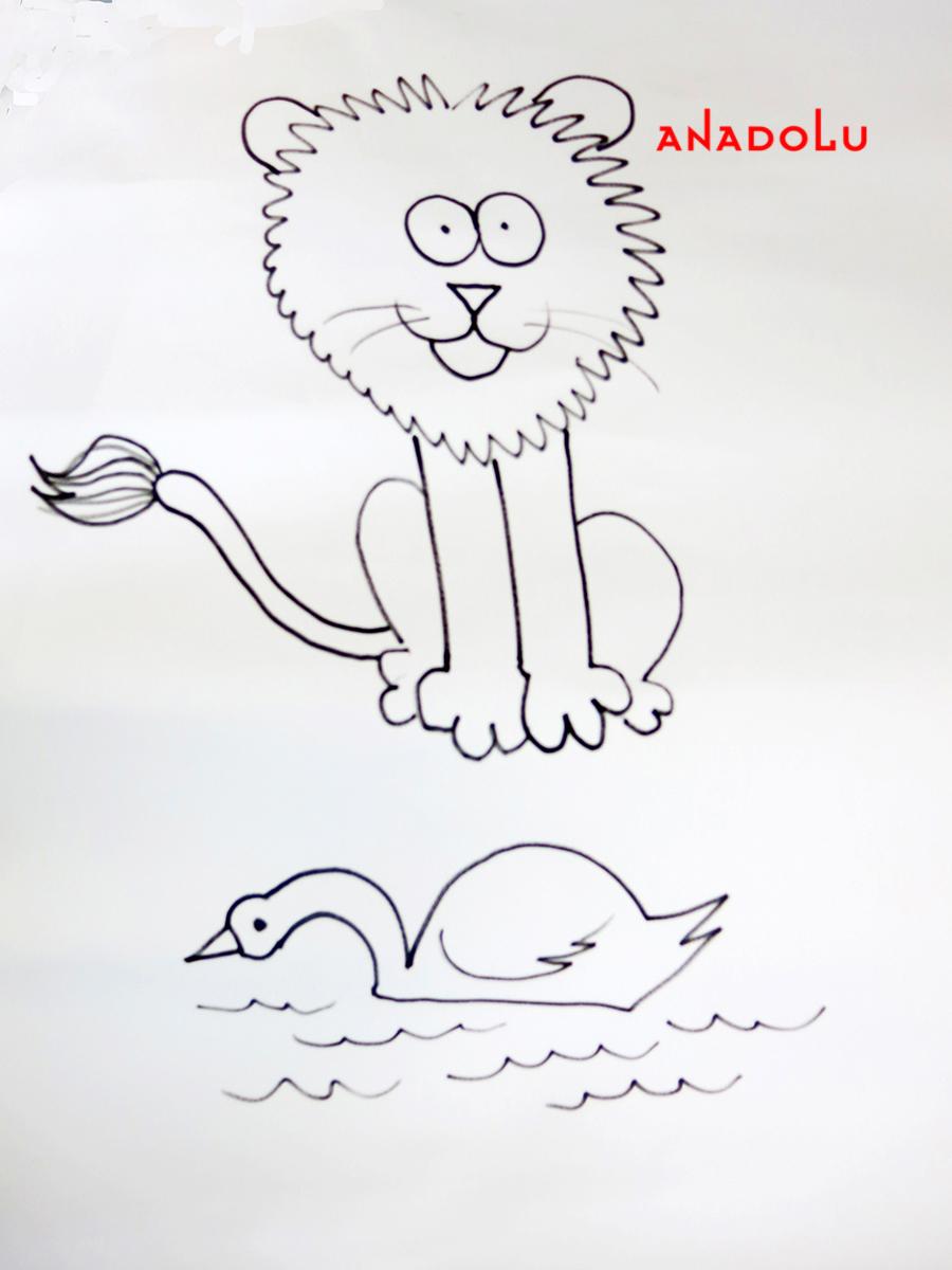 Çocuklar İçin Karikatür Eğitimleri Gaziantepda