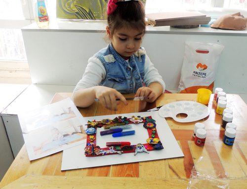 Gaziantepteki Çocuk Çizimlerinde Ressam İzleri