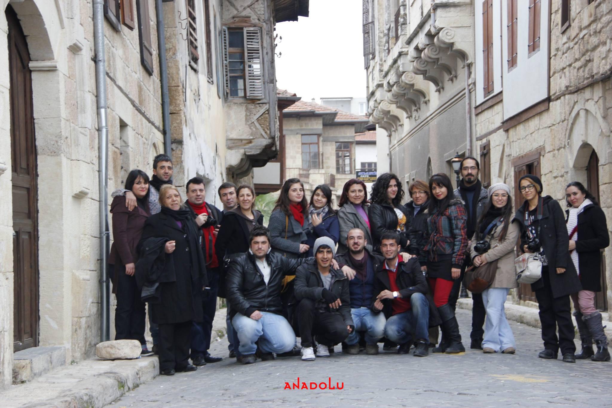 Anadolu Güzel Sanatlar Fotoğraf Gezileri Gaziantepda