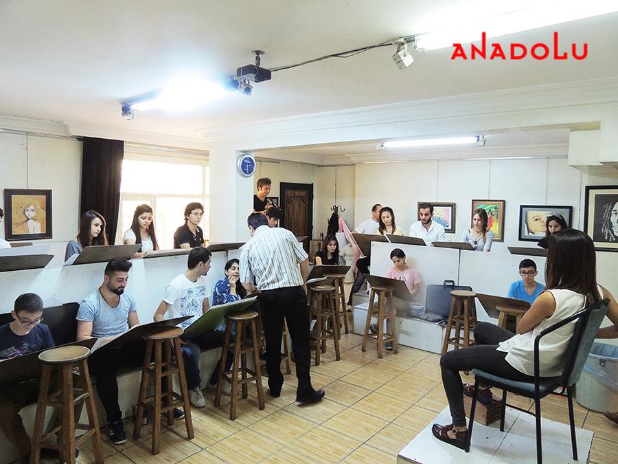 Gaziantep Güzel Sanatlara Fakülteleri Hazırlık Sınıfları