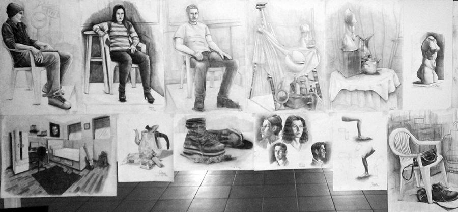 Güzel Sanatlarda Çıkmış İmgesel Çizimler Gaziantepda