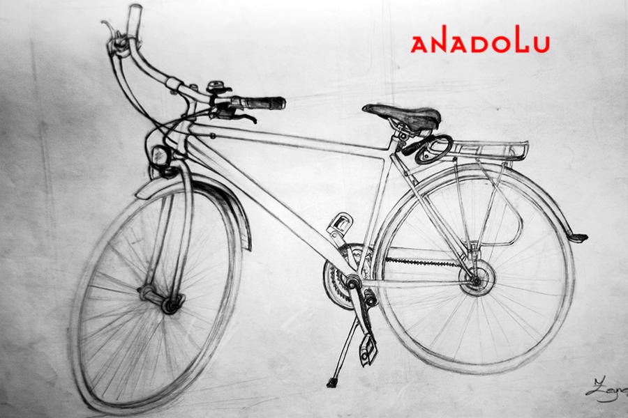 Bisiklet Çizim Örneği Gaziantepda