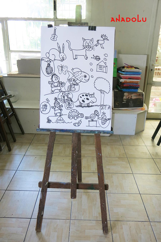 Çocuklar İçin Karikatür Örnekleri Gaziantepda