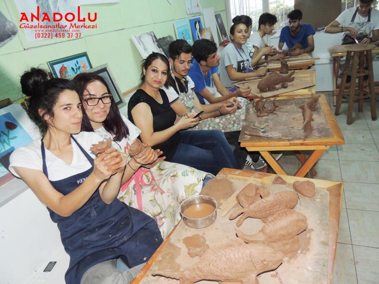 Heykel Dersleri Hobi Grupları Gaziantep