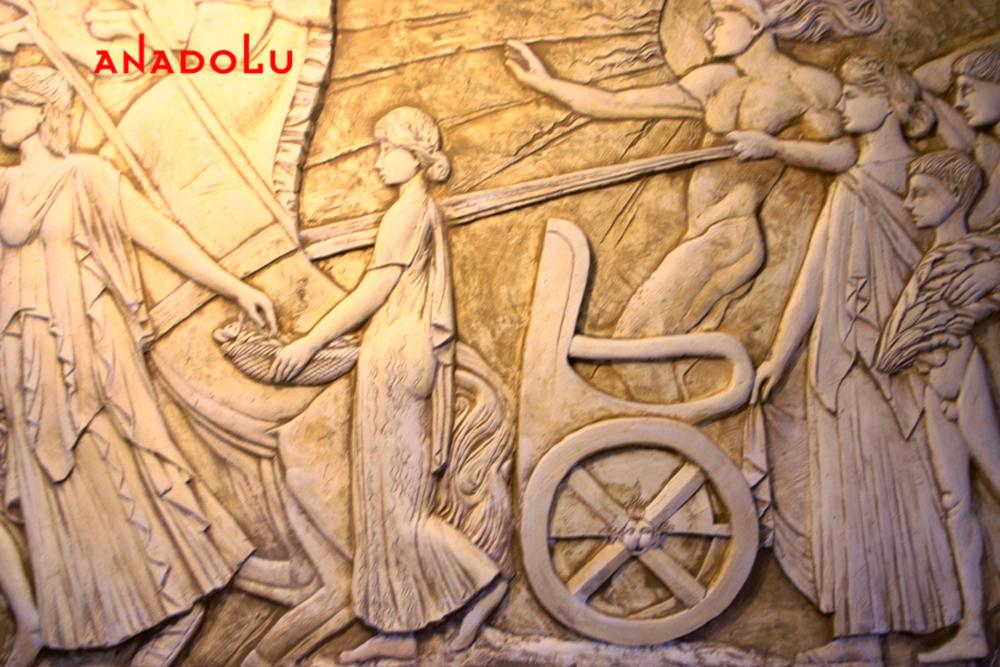 Heykel Rölyef Örneği Gaziantepda