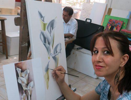Gaziantepteki Çizim Dersleri İçin Güzel Örnek Çalışmalar