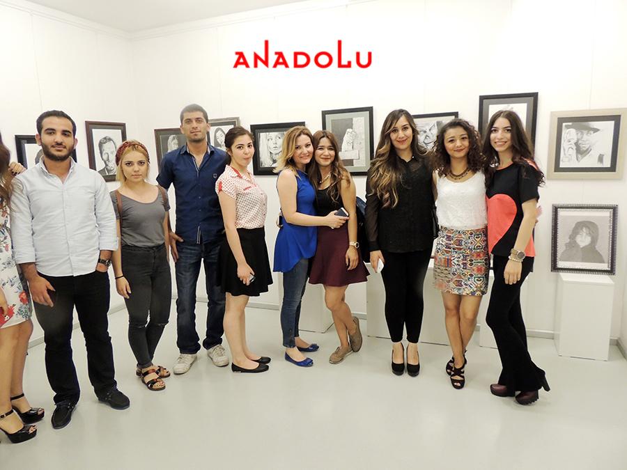 Gaziantepda Anadolu Güzel Sanatlarda Sergi Açılışları
