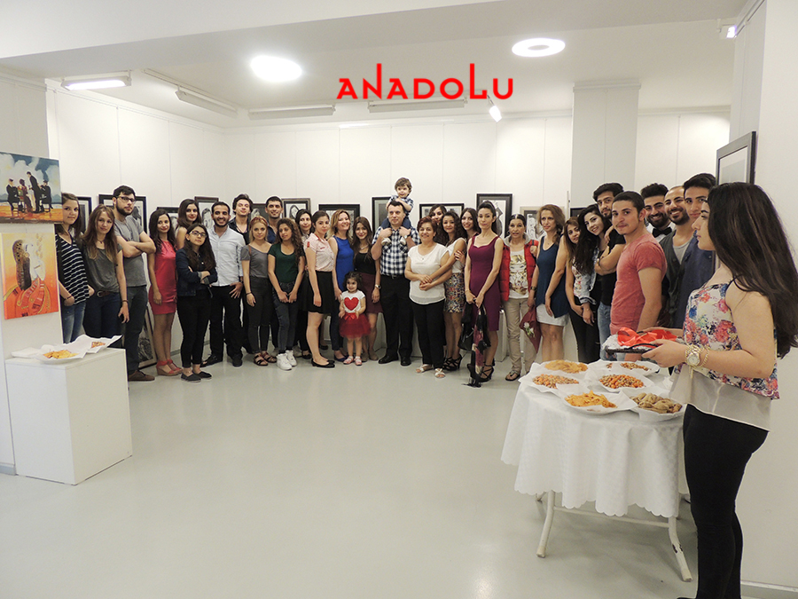 Anadolu Güzel Sanatlarda Sergi Açılışları Gaziantepda