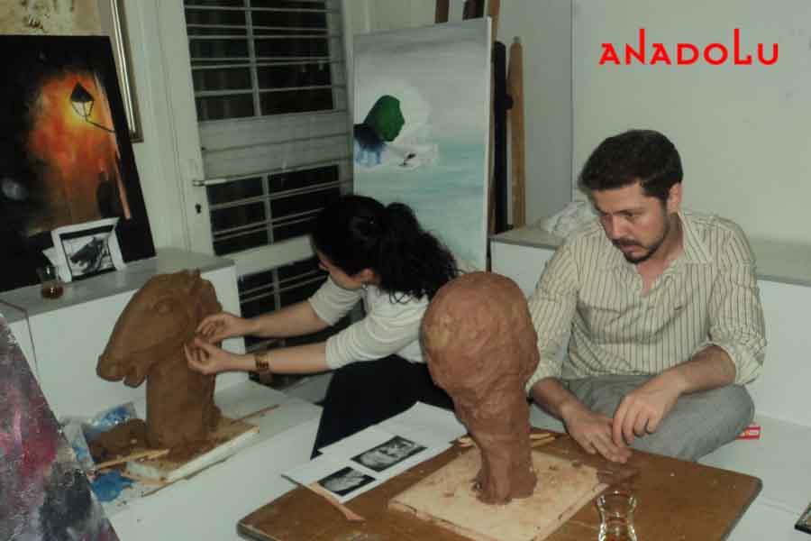 Özel Heykel Eğitimi Gaziantepda