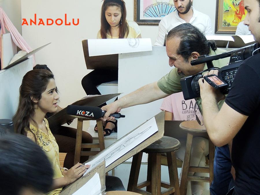 Güzel sanatlar Öğrencileri İle Röportajlar Gaziantepda