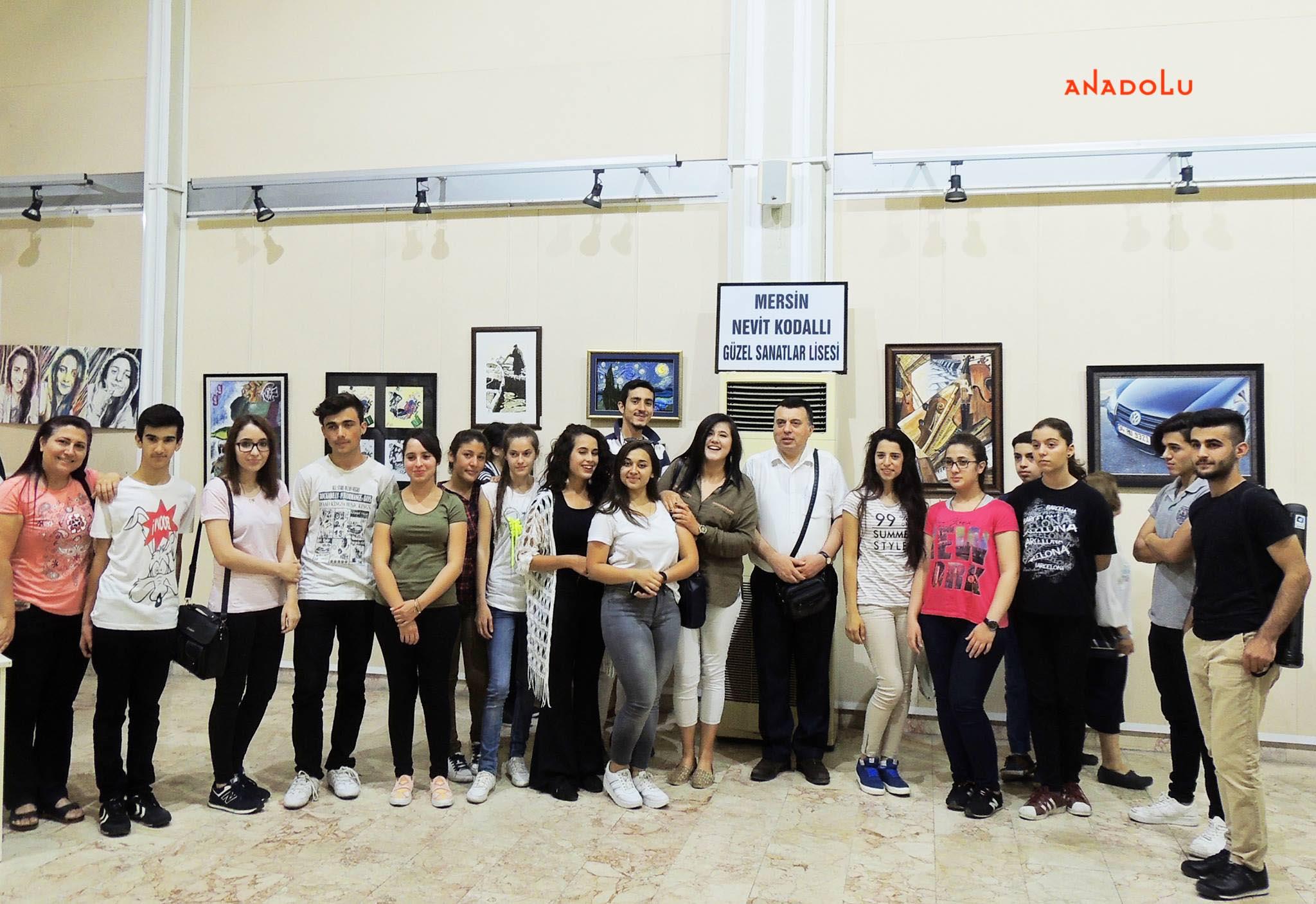 Anadolu Güzel Sanatlar Resim Sergilerden Gaziantepda