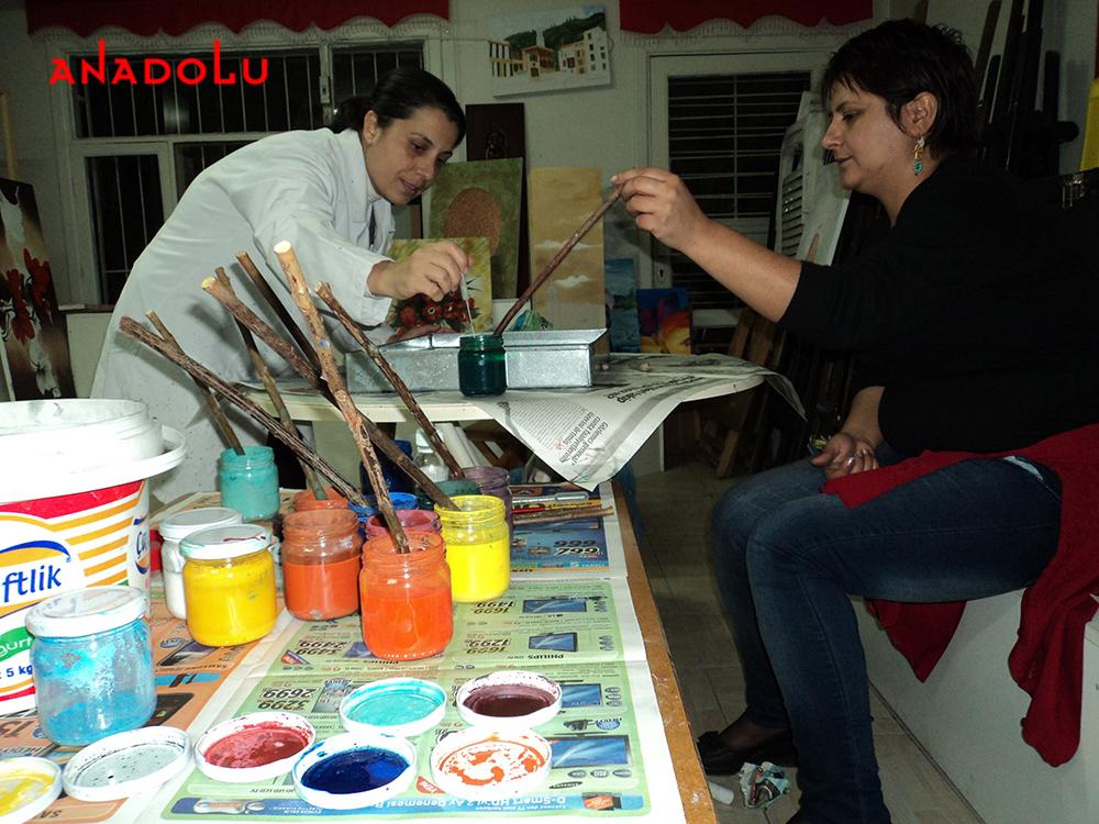 Geleneksel Ebru Kursları Gaziantepda