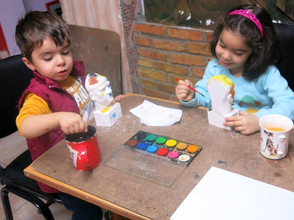 Gaziantep Çocuk Sanat Dersleri