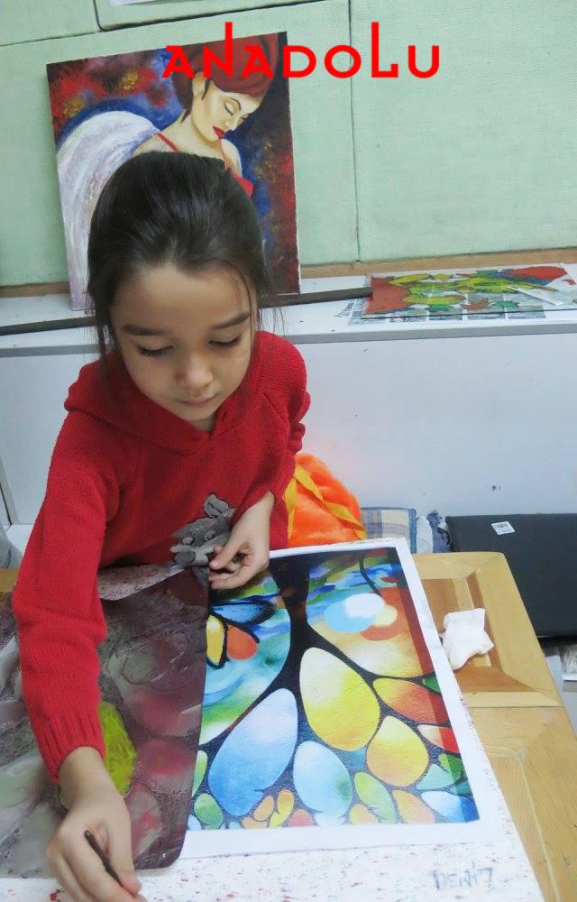 Gaziantepte Çocuklara Yönelik Resim Atölyeleri
