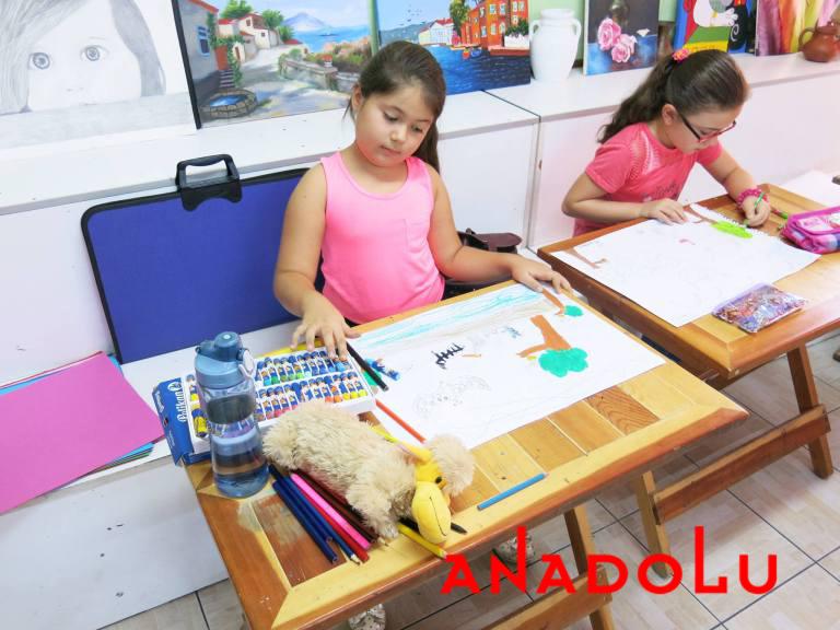 Gaziantepte Çocuklara Yönelik Pastel Boyama Kursu
