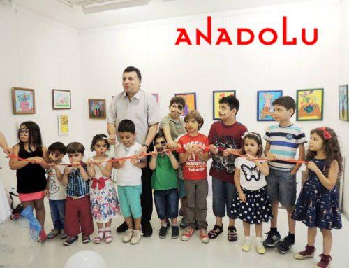 Gaziantepteki Çocuklar Minik Ressamlardır