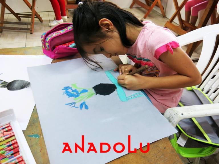 Çocuklar İçin Güzel Sanatlar Kursu Gaziantepda