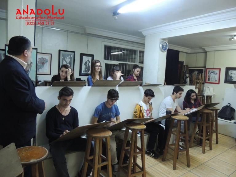 Güzel Sanatlar Fakülteleri İçin Yetenek Kursları Gaziantepda