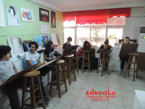 Anadolu Güzel Sanatlar Liselerine Hazırlık Kursları Gaziantepda