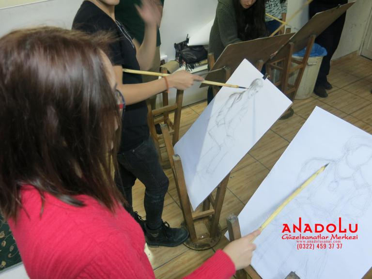 Gaziantepte Anadolu Güzel Sanatlarda Orjinal Teknik Eğitimleri