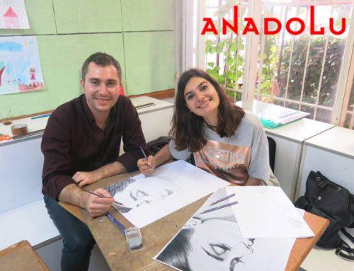 Gaziantepteki Anadolu Sanat Atölyesinde Kurs Ortamı videoları