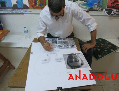 Gaziantepteki Gülser Gültekin'in Resim Çizim Videoları