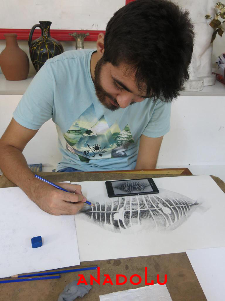 Hobi Grubu Karakalem Çalışmaları Gaziantep