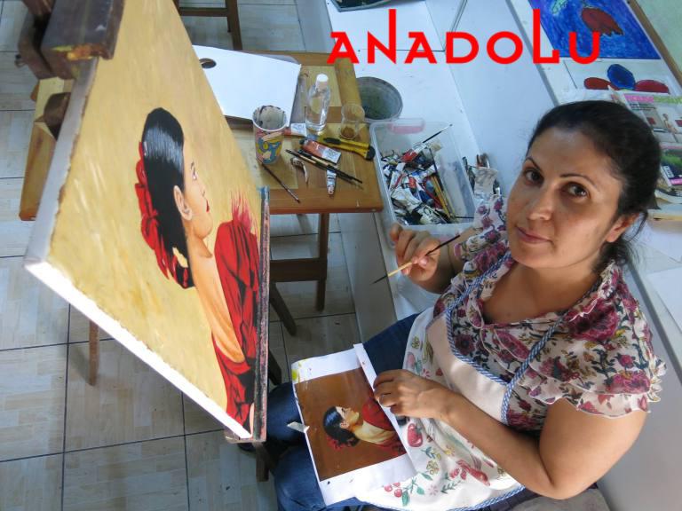 Yağlı boya Dersleri Hobi Grupları Gaziantep