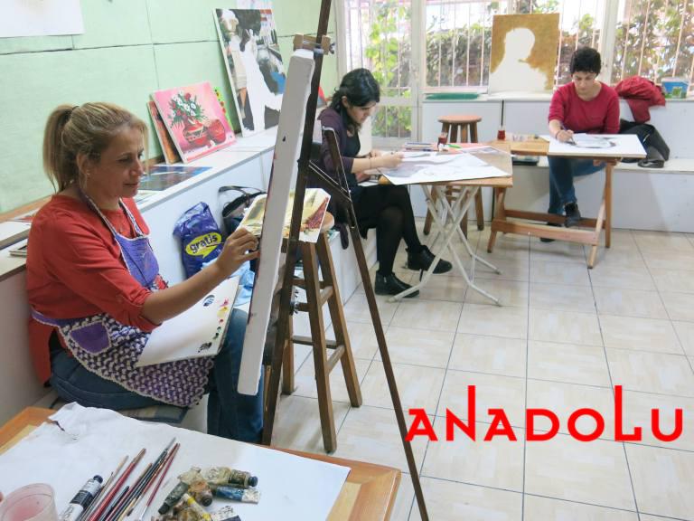 Hobiler İçin Yağlıboya Dersleri Gaziantepda