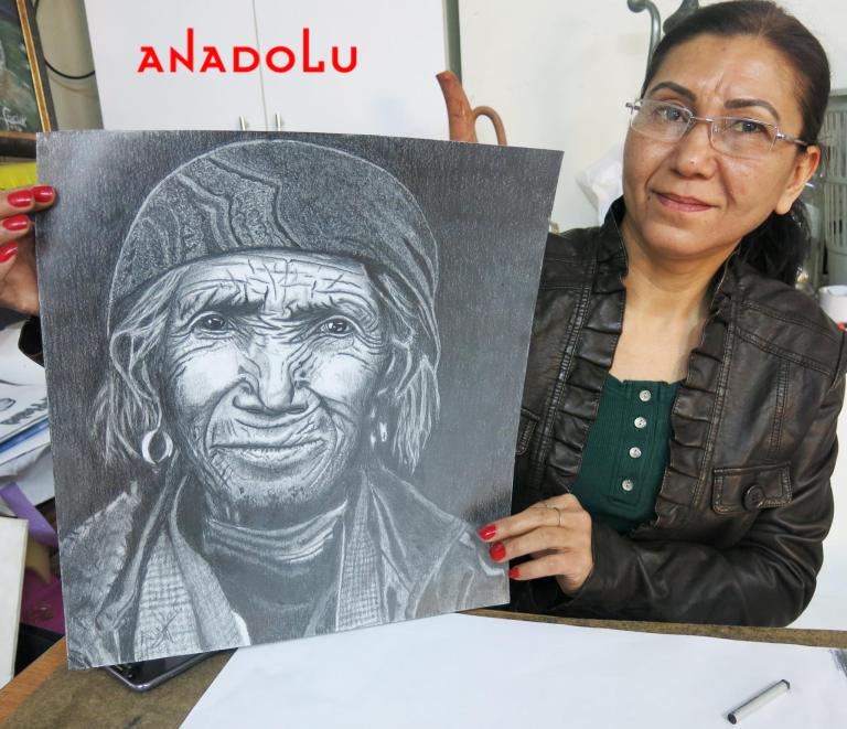 Hobi Karakalem Çizimi Gaziantep