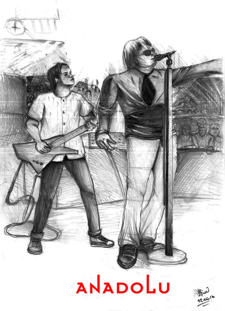 Gaziantepda Karakalem Şarkı söyleyenler
