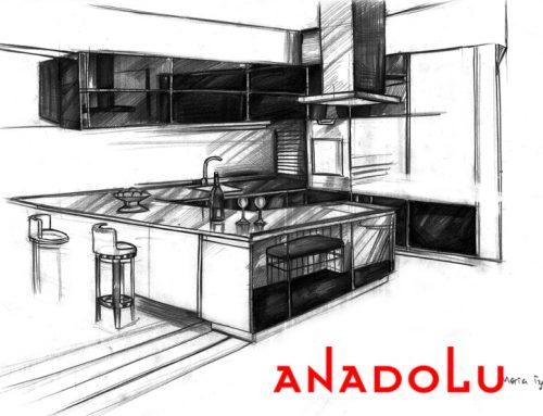 Gaziantepteki Apartman Çizim Tekniği